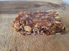 Grab and go oatmeal nut bars