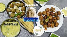 Homemade Dakor Gota Mix Besan Kadhi Chatni No Fry & Fried Gota Video Recipe | Bhavna's Kitchen - YouTube Bhavna's Kitchen, Gujarati Cuisine, Tea Time Snacks, Yummy Treats, Food Videos, Fries, Picnic, Homemade, Chicken