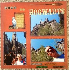 NICK AT HOGWARTS - Scrapbook.com