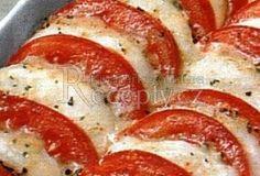 Easy Dinner Recipes, Snack Recipes, Healthy Recipes, Snacks, Czech Recipes, Ethnic Recipes, Fast Dinners, Vegetable Recipes, Mozzarella