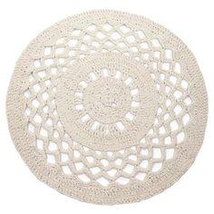 DIY haakpakket Mandala Vloerkleed Sandy ecru