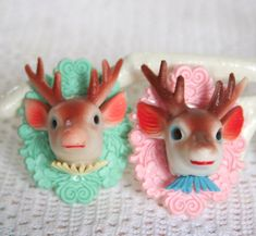 Deer  Love Brooch by bazaarLatino on Etsy, $15.00