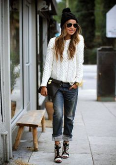 Girlshue - 18 + Winter Fashion Ideas & Outfit Trends For Girls & Women 2015 | Street Style