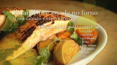 Ingrediente Secreto   Episodios   5/8 Batata Doce   Batata doce assada no forno (com salmão e especiarias)