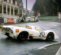 Porsche 908_1000 km Spa 1969 Maintenance of old vehicles: the material for new cogs/casters/gears could be cast polyamide which I (Cast polyamide) can produce