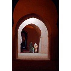 Royal granaries of Moulay Ismail Meknes Morocco Africa Canvas Art - Kymri Wilt DanitaDelimont (18 x 24)