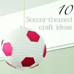 soccer craft ideas soccer paper lanterns 3ct city grad 2965