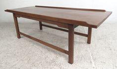 Mid-Century Modern Walnut Coffee Table by Drexel (5477)NJ
