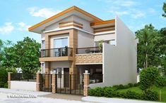 Contemporary House Design With Four Bedrooms And Two Toilet And Baths - Ulric Home