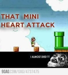In my case, I'm so astonished I didn't that I accidentally hit the button again and run him off the other side. :(