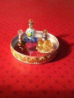 Dollhouse Designery perfume and glass tray