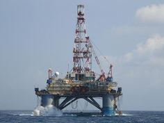 Near the crash site? ... the Songa Mecur oil rig off Vung Tau, Vietnam.