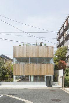 Offenheit mit Vorhang - Wochenendhaus in Tokio
