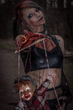 Halloween Face Makeup, Cosplay, Model, Fictional Characters, Art, Art Background, Scale Model, Kunst