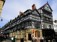 Chester, England -- my new home!