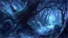 Fantasy and Foodporn — Myth Anomalies: Undead or Fey Fantasy Forest, Magic Forest, Forest Art, Dark Forest, Fantasy Places, Fantasy World, Fantasy Landscape, Landscape Art, Will O The Wisp