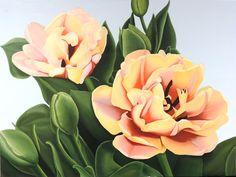 Tulpen - Olieverf