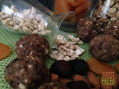 Fig, Apricot & Cherry Protein Balls   YUMMY TUMMY PALEO