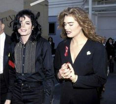 ♥ Michael Jackson and Brooke Shields ♥