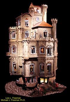 The Freeman's Astolat Castle Dollhouse Miniatures and Accessories