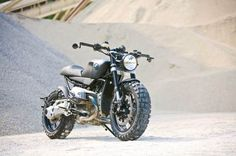 LAZARETH SCRAMBLER - BMW R1200 R on Behance