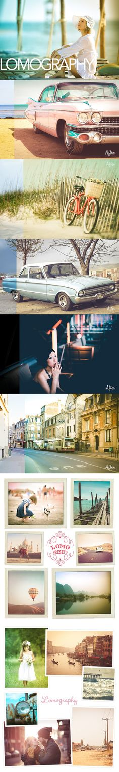 Lomography Lightroom Presets. Actions. $6.00