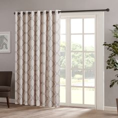 Shop for Madison Park Westmont Fretwork Print Patio Window Panel. Free Shipping on orders over $45 at Overstock.com - Your Online Home Decor Outlet Store! Get 5% in rewards with Club O!