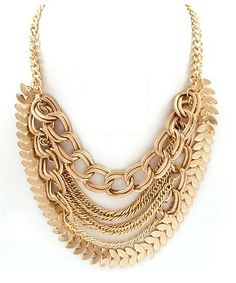 Lush Layer Links Necklace