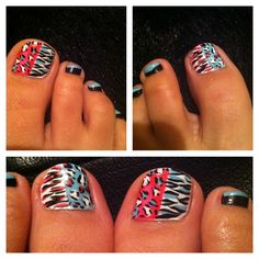 My new toe nail designs