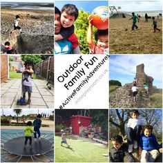 ACTIVE family fun. Fun ways to spend quality time as a family outdoors