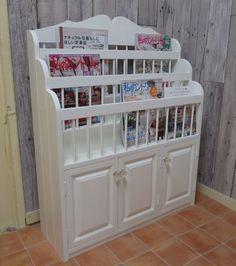 ブックスタンド ミルキーホワイト|その他家具|Romance White|ハンドメイド通販・販売のCreema