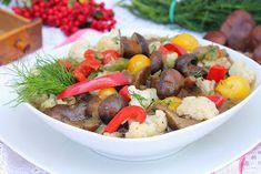 wesoła kuchnia: Gulasz z grzybami Carne, Grains, Rice, Beef, Food, Ideas, Restaurant, Meat, Essen