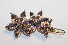 ★ Vintage Haarschmuck Haarspange Besatz Floral Accessoire 10,5 g ★ 610633 | eBay