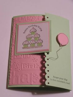Stamping cupcakes by bbstamper121 - Cards and Paper Crafts at Splitcoaststampers