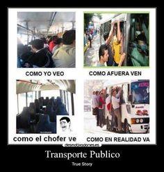 15 Memes que toda persona que haya viajado en transporte público entenderá