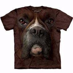 Human T-Shirt - Boxer Face by The Mountain - The Paws Land
