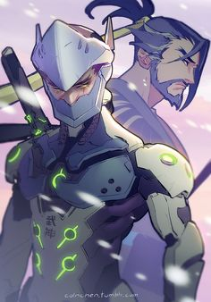 Genji And Hanzo
