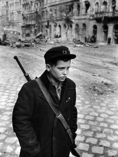 Boy Freedom Fighter Carrying Rifle During Hungarian Revolution Against Soviet Backed Government Photographic Print by Michael Rougier Budapest, Old Photos, Vintage Photos, Freedom Fighters, My Heritage, Historical Pictures, Life Magazine, Cold War, Vintage Photography