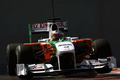 Yelmer Buurman - Testing in a Force India - 2010