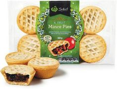 Woolworths Select Fruit Mince Pies 360g Pk 6