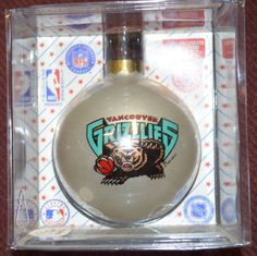 NBA Memphis Grizzlies Traditional Ornament with Team  Logo  2 5/8 in Dia  #Topperscot #NBAMemphisGrizzlies