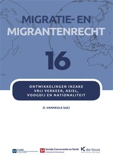Ontwikkelingen inzake vrij verkeer, asiel, voogdij en nationaliteit (papier + Jurisquare e-book)