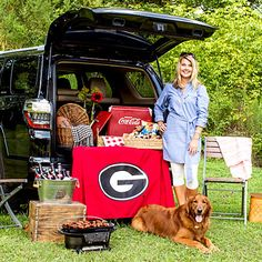 Convert Your SUV Into a Table - Tips for Hosting a Great Tailgate - Southern Living