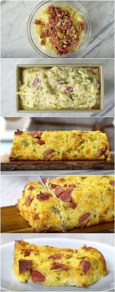 Bolo de Batata e Linguiça, EU FIZ E AMEI ESSA RECEITA! #bolo #bolodebatata #linguica #jantar #almoço