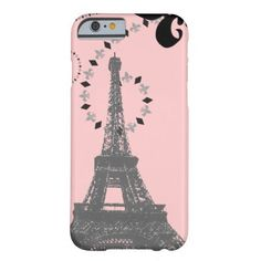 elegant pink vintage paris eiffel tower iPhone 6 c iPhone 6 Case