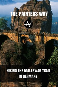 Hiking The Malerweg Trail in Germany – Best Hiking Destinations – Hiking Bucket List – Beautiful Backpacking Places To Go On Vacation Best Hiking Gear, Camping Places, Backpacking Europe, Best Hikes, Culture Travel, Germany Travel, Hiking Trails, The Great Outdoors, Adventure Travel