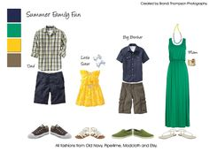 Bright Summer Family What to Wear June 2013 – Plano Family Photographer : Brandi Thompson Photography – Dallas Plano Frisco Portrait Photogr...
