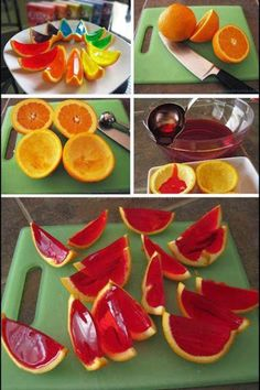 Orange Jellies are easy to make and goes well in just about any occasion from birthdays to office parties. Their vibrant color and shiny appearance will surely attract a lot of attention especially for kids. You just need some oranges, a standard jelly mix and you are good to go. Pretty simple for such a good looking tasty treat.