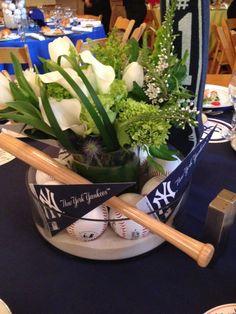 Florie Huppert Design - Baseball Bar Mitzvah see all photos attached to link