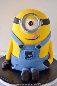 Gâteau Minion - avec des bonbons banana